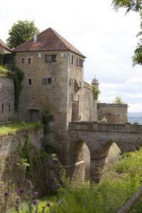Hohenasperg, Brücke über den Wallgraben, (c) Archiv Asperg