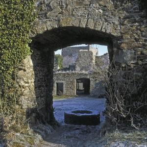 Festung Hohentwiel in Singen, Tor zum Innenhof