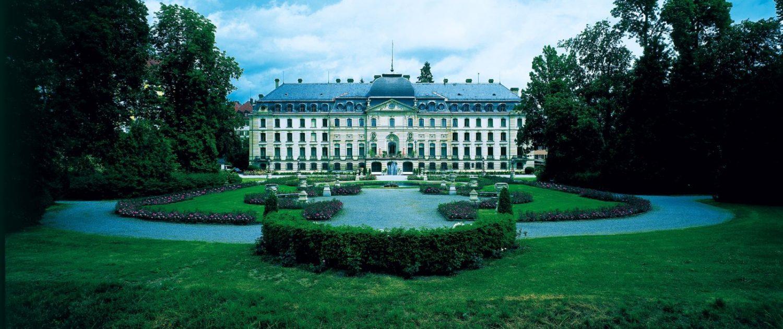 Schloss Donaueschingen, Frontansicht (c) Haus Fürstenberg