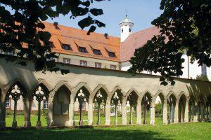 Kloster Kirchberg, Kreuzgang und Konvent, (c) Kloster Kirchberg