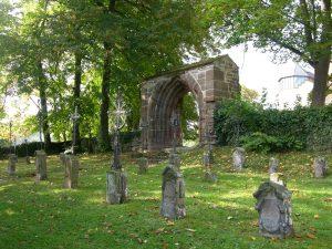 Kloster Kirchberg, Nonnenfriedhof, (c) Kloster Kirchberg