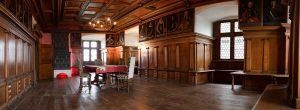 Rittersaal der Waldburg original erhalten von 1568 (c) Silke Monk, Kissleg