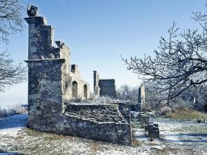 Festung Hohentwiel im Winter