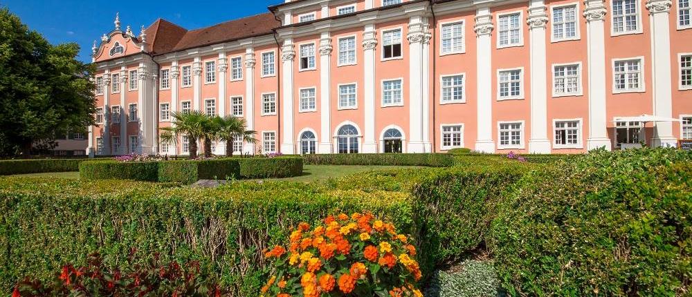 Neues Schloss Meersburg, Außenansicht