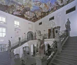 Neues Schloss Meersburg, Treppenhaus