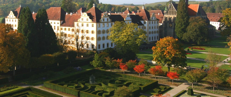 Der Formengarten von Schloss Salem