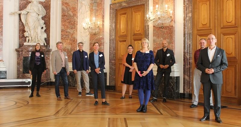 Workshop Schloss Mannheim 30.09.2021,Referenten und Referentinnen