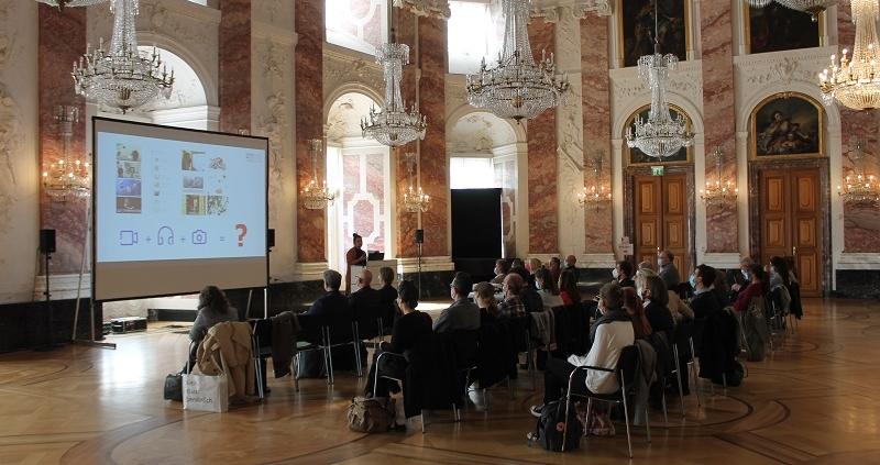 Workshop Schloss Mannheim 30.09.2021,Vortrag Manuela Greipel